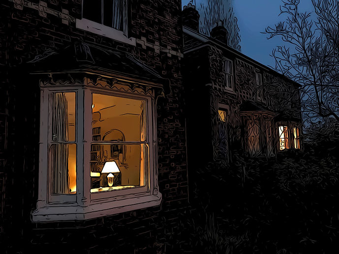 Lamp at the Window | Poems | Margaret Adkins Writing