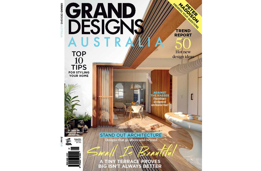 Grand Designs Australia July 2016 Cover