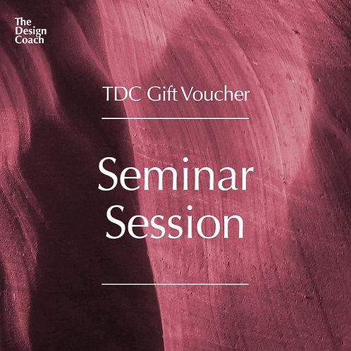 Seminar Session Gift Voucher