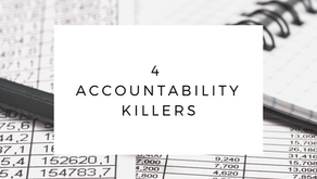 Four Accountability Killers