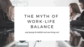 The Myth of Work-Life Balance