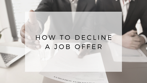 How to Decline a Job Offer (Politely)