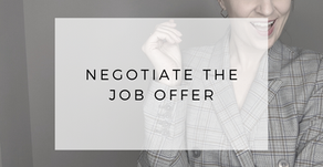 How to Negotiate a New Job Offer