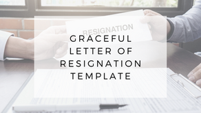 Letter of Resignation Template to Quit with Class