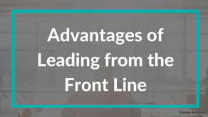 Advantages of Leading from the Front Line
