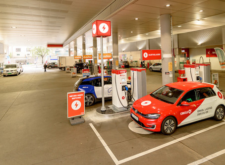 Circle K remove petrol pump to make space for EV charger