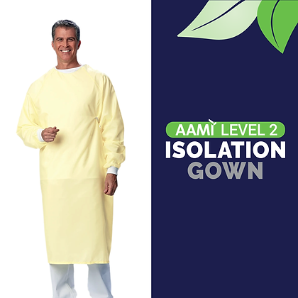 Level 2 Reusable Isolation Gowns