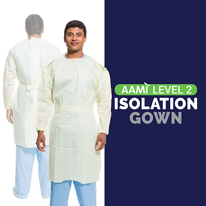Level 2 Single Use Isolation Gowns