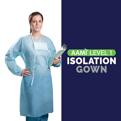 Level 1 Economical Isolation Gowns