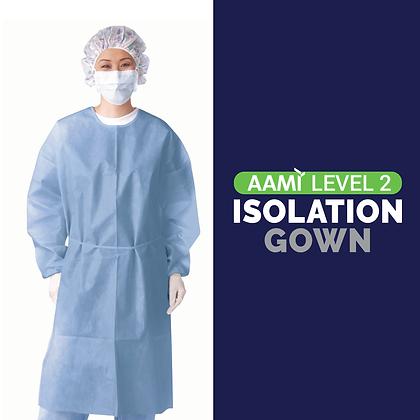 Level 2 Single Use Isolation Gowns