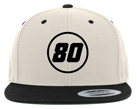 Custom Snapback caps - With race number and name!