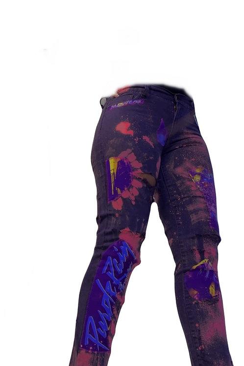 Purple Rain T Jeans