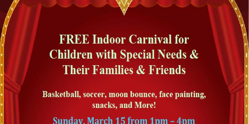 FREE Annual Carnival for Children with Special Needs & Their Families & Friends!
