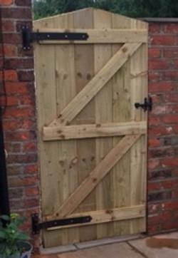 Yorkshire Board Garden Gate (rear)