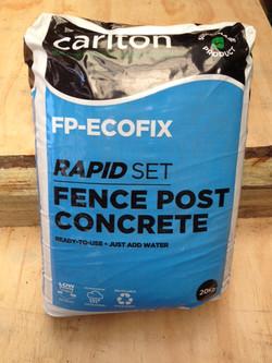 Fence Post Concrete