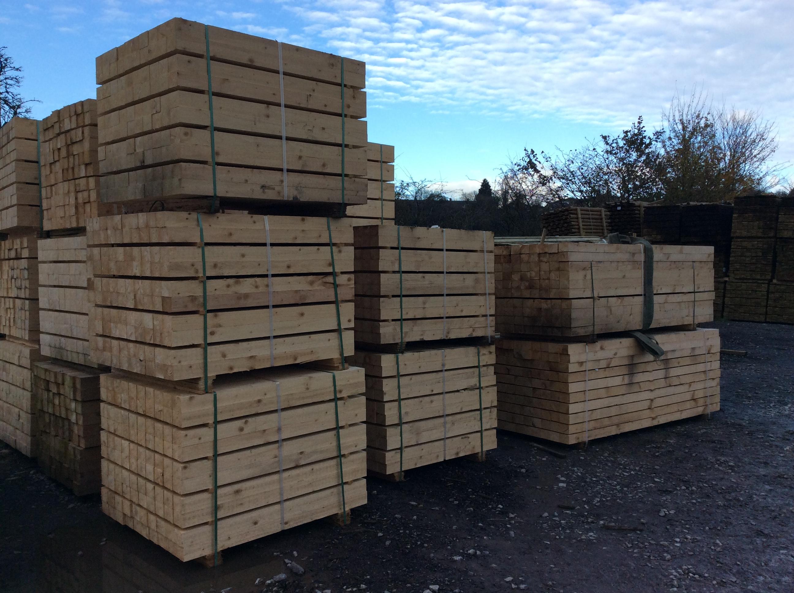 Timber Skids/Bearers