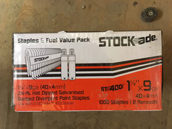 Stock-ade Staples & Fuel Pack