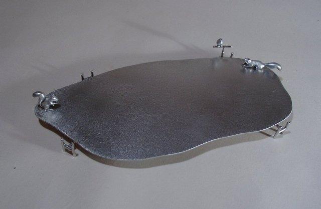 りすのいるパーテイ皿
