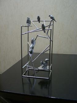 オブジェ小鳥