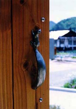 りすのドア用取手