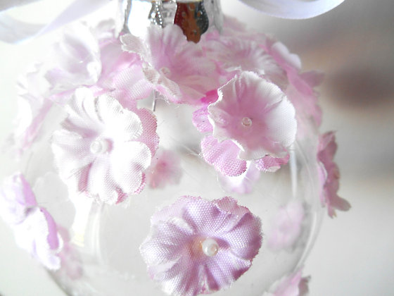Pale Pink Bauble - Large