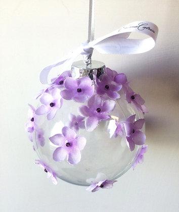 Purple Ombre Bauble - Large