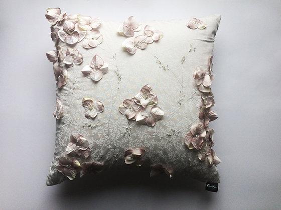 Aria 3D Floral Cushion - Large