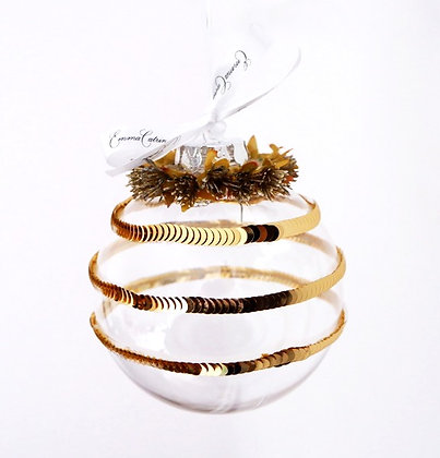 Gold Bauble - Large