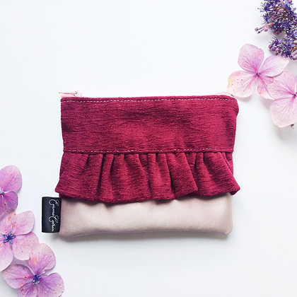 Fuchsia and Mauve Purse