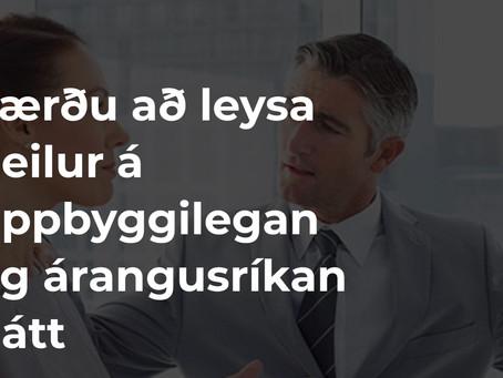 Sáttamiðlaraskólinn hefst aftur í febrúar