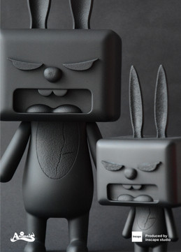 Baby BiBiBu (Black) with BiBiBu (Black)