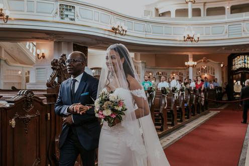 Hochzeitsfotograf Hamburg St. Michaelis Kirchliche Trauung