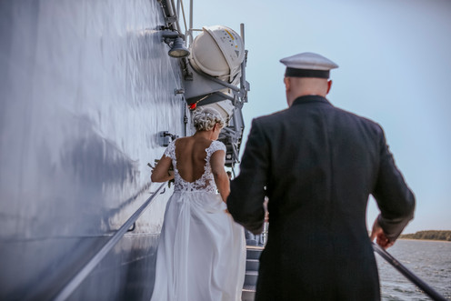 Get married at sea
