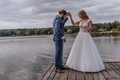 Braut und Bräutigam Tanz