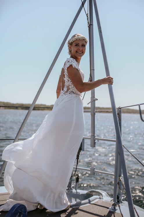 Braut in Kiel