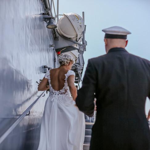 Marine Hochzeit in Kiel
