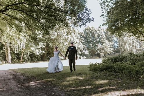 Braut und Bräutigam Kiel