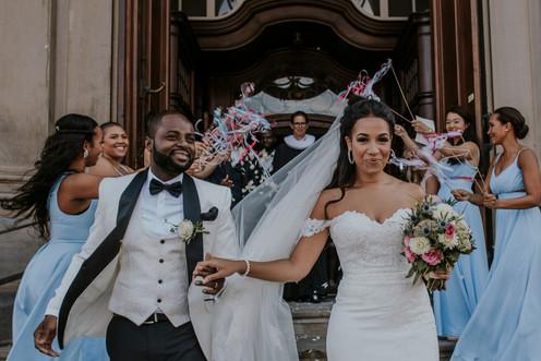 Hochzeitsfotograf Hamburg Kirche Michel Zeremonie