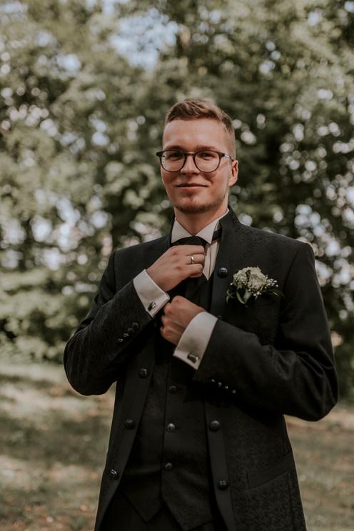 Hochzeitsshooting Boizenburg Bräutigam Hamburg Hochzeitsfotograf