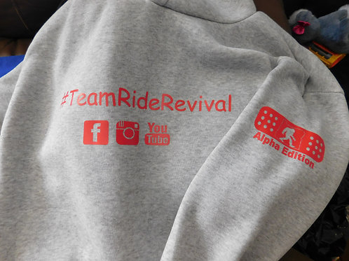 #TeamRideRevival Projects Supporter Hoodies Alpha'
