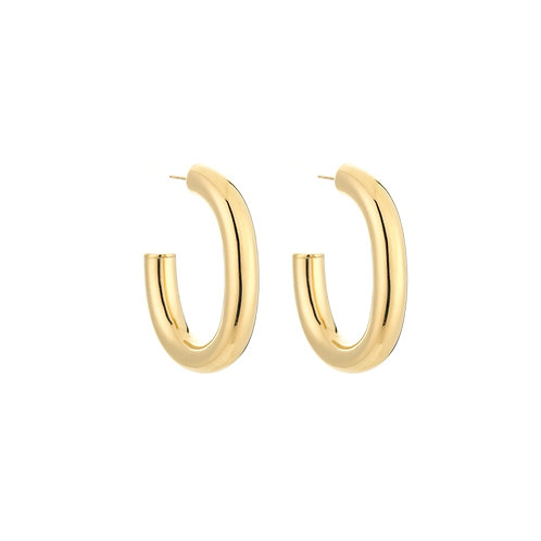 Earrings Statement Hoop Small