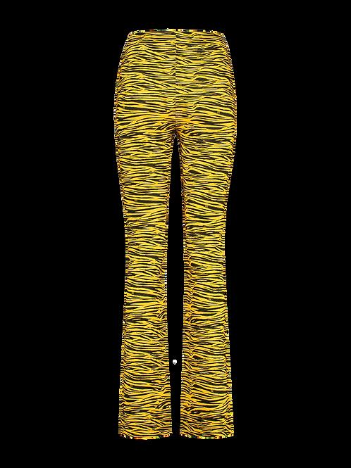 NIKKIE TIGER FLARED PANTS