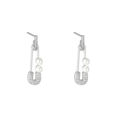 Earrings Glamour pin