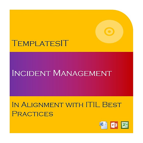 Incident Management Framework (Policy, Process and Template)