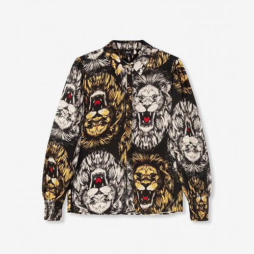 ALIX THE LABEL LION BLOUSE
