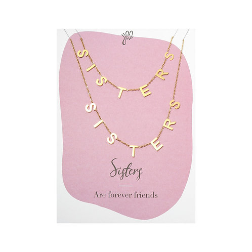 Necklace Sisters Forever