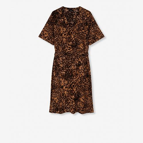 JAGUAR CRINKLE DRESS