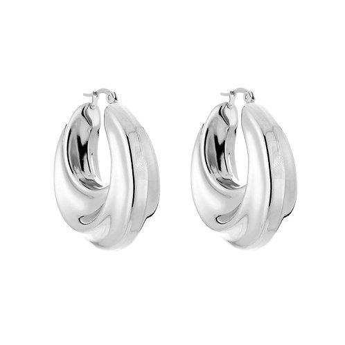 Earrings Chunky Hoops