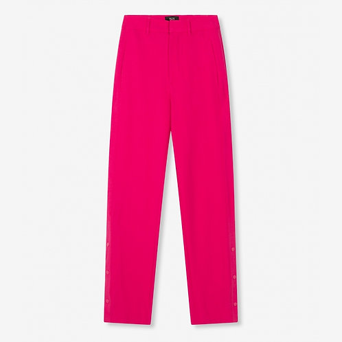 ALIX THE LABEL STRETCH WIDE LEG PANTS