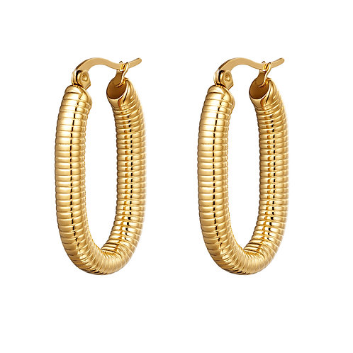 Earrings Oval Spring